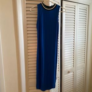 Deep Blue tube dress